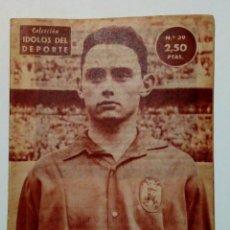 Coleccionismo deportivo: REVISTA IDOLOS DEL DEPORTE Nº 39 (2-1-58): URIBE - ATHLETIC CLUB BILBAO -. Lote 171622380