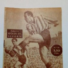 Coleccionismo deportivo: REVISTA IDOLOS DEL DEPORTE Nº 19: ZARRA (14-8-58) - ATHLETIC CLUB BILBAO -. Lote 171622778