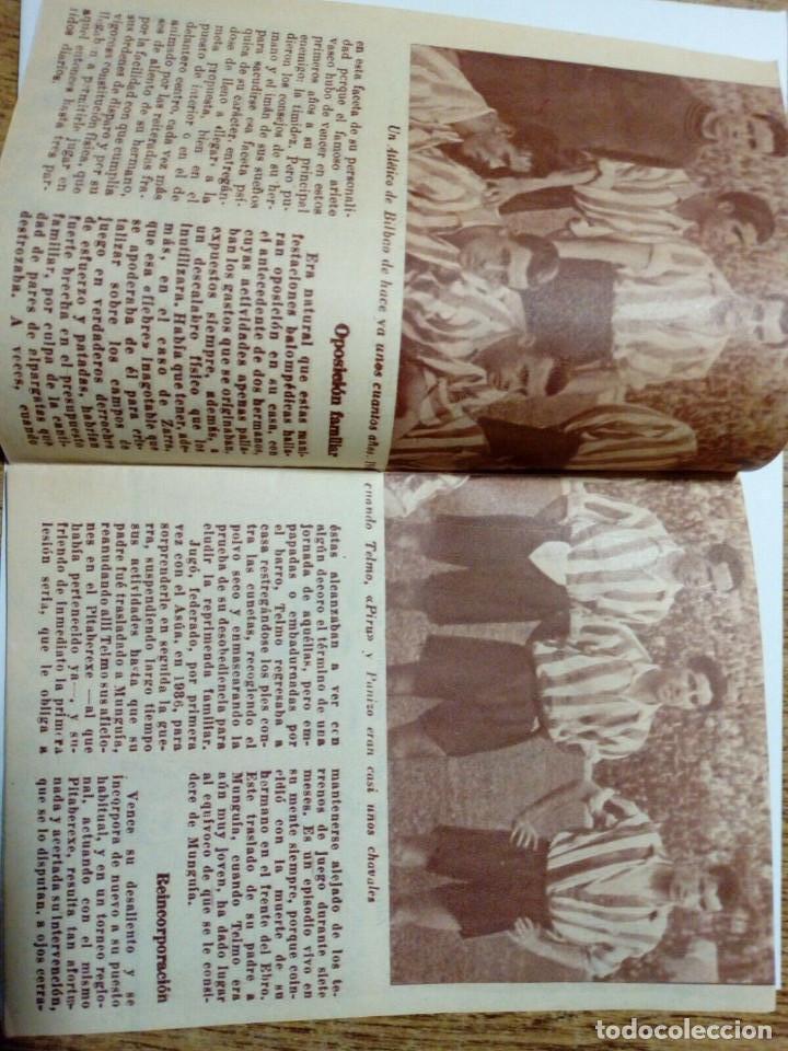 Coleccionismo deportivo: Revista IDOLOS DEL DEPORTE nº 19: ZARRA (14-8-58) - Athletic Club Bilbao - - Foto 2 - 171622778