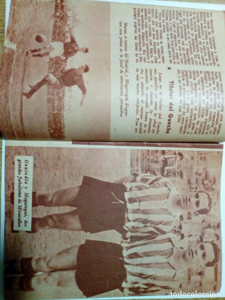 Coleccionismo deportivo: Revista IDOLOS DEL DEPORTE nº 41: MAGUREGUI (16-1-59) - Athletic Club Bilbao - - Foto 3 - 171623560