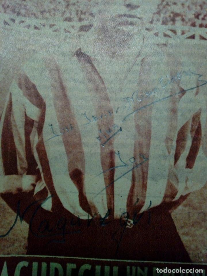 Coleccionismo deportivo: Revista IDOLOS DEL DEPORTE nº 41: MAGUREGUI (16-1-59) - Athletic Club Bilbao - - Foto 4 - 171623560