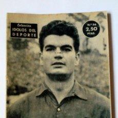 Coleccionismo deportivo: REVISTA IDOLOS DEL DEPORTE Nº 56: GENSANA (10-4-1959) F.C. BARCELONA. Lote 171700740