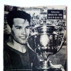 Coleccionismo deportivo: REVISTA IDOLOS DEL DEPORTE Nº 24: SEGARRA (18-9-1958) F.C. BARCELONA. Lote 171700819
