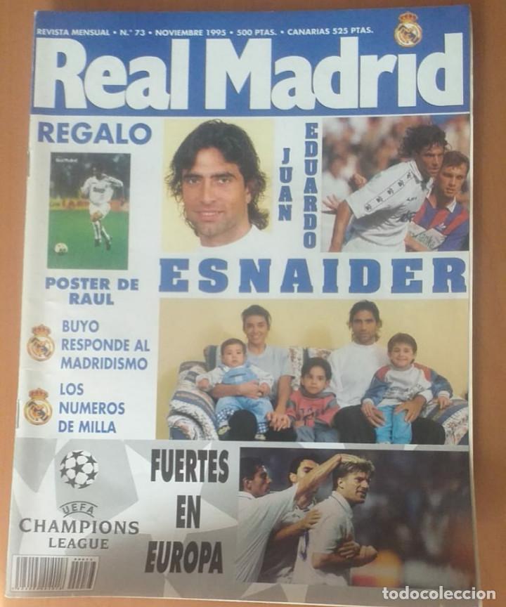 REVISTAS REAL MADRID AÑO 1995 NºS 68, 69, 70, 73 (Coleccionismo Deportivo - Revistas y Periódicos - otros Fútbol)