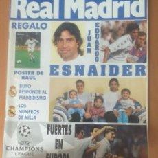 Coleccionismo deportivo: REVISTAS REAL MADRID AÑO 1995 NºS 68, 69, 70, 73. Lote 171761799