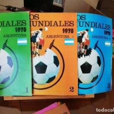 Coleccionismo deportivo: HISTORIA DE LOS MUNDIALES : 32 FASCICULOS CRONOLOGICOS. Lote 171797090