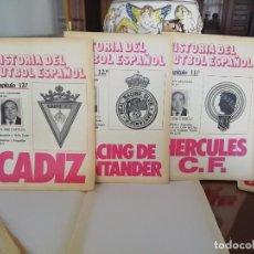 Coleccionismo deportivo: HISTORIA FUTBOL, ESPAÑOL 20 FASCICULOS -DON BALON AÑOS 80. Lote 171800822