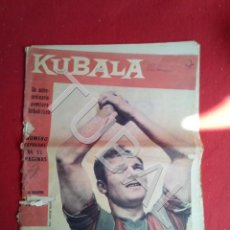 Coleccionismo deportivo: TUBAL KUBALA REVISTA BARÇA 5 MARZO 1961 274. Lote 171801944