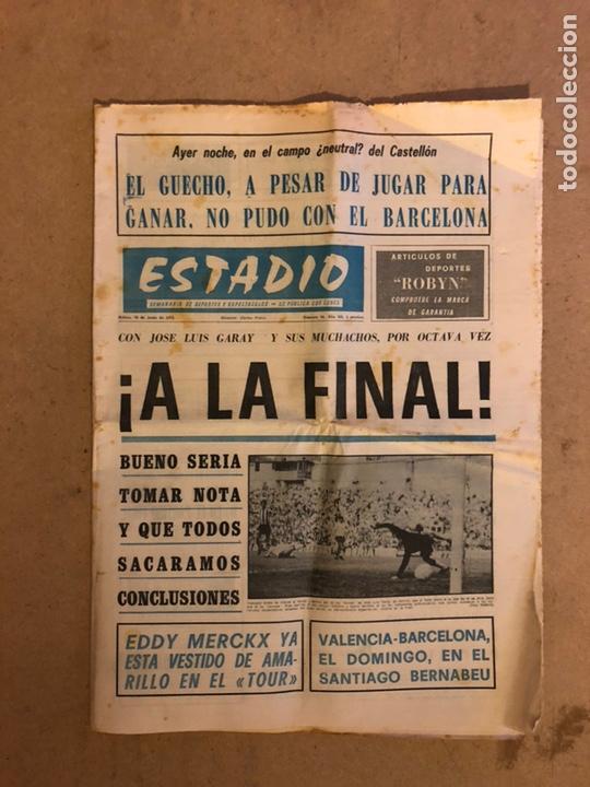 ESTADIO N° 96 (JUNIO 1971). SEMANARIO DE DEPORTES Y ESPECTÁCULOS. ATHLETIC CLUB A LA FINAL JUVENILES (Coleccionismo Deportivo - Revistas y Periódicos - otros Fútbol)