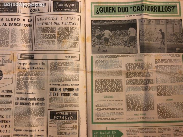 Coleccionismo deportivo: ESTADIO N° 96 (JUNIO 1971). SEMANARIO DE DEPORTES Y ESPECTÁCULOS. ATHLETIC CLUB A LA FINAL JUVENILES - Foto 2 - 172088812