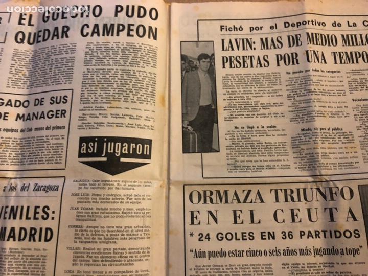 Coleccionismo deportivo: ESTADIO N° 96 (JUNIO 1971). SEMANARIO DE DEPORTES Y ESPECTÁCULOS. ATHLETIC CLUB A LA FINAL JUVENILES - Foto 3 - 172088812