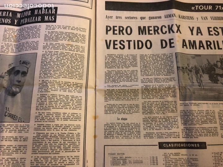 Coleccionismo deportivo: ESTADIO N° 96 (JUNIO 1971). SEMANARIO DE DEPORTES Y ESPECTÁCULOS. ATHLETIC CLUB A LA FINAL JUVENILES - Foto 5 - 172088812
