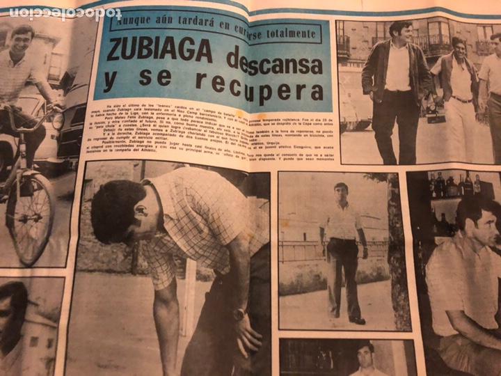 Coleccionismo deportivo: ESTADIO N° 96 (JUNIO 1971). SEMANARIO DE DEPORTES Y ESPECTÁCULOS. ATHLETIC CLUB A LA FINAL JUVENILES - Foto 6 - 172088812