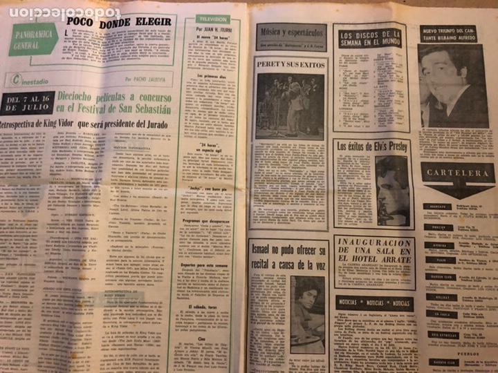 Coleccionismo deportivo: ESTADIO N° 96 (JUNIO 1971). SEMANARIO DE DEPORTES Y ESPECTÁCULOS. ATHLETIC CLUB A LA FINAL JUVENILES - Foto 7 - 172088812