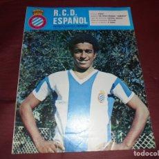 Coleccionismo deportivo: MAGNIFICAS 11 REVISTAS,GRAFICA MENSUAL R.C.D. ESPAÑOL. Lote 172164705