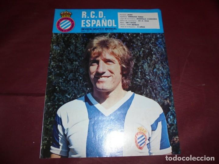 Coleccionismo deportivo: magnificas 11 revistas,grafica mensual R.C.D. ESPAÑOL - Foto 2 - 172164705
