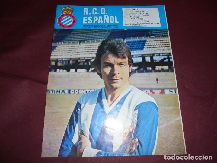 Coleccionismo deportivo: magnificas 11 revistas,grafica mensual R.C.D. ESPAÑOL - Foto 11 - 172164705