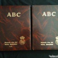 Coleccionismo deportivo: REAL MADRID HISTORIA VIVA DEL REAL MADRID FÚTBOL Y BALONCESTO 1902 - 1987 MUY BIEN CONSERVADO. Lote 172773799