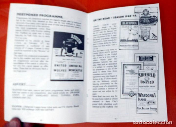Coleccionismo deportivo: REVISTA FANZINE ANTIGUO RARO FÚTBOL COLLECTORS CLUB COLECCIONISTAS -UNITED REVIEW MANCHESTER UNITED - Foto 2 - 173598958