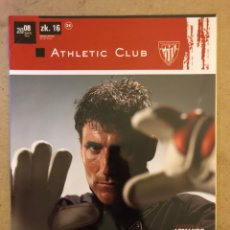 Coleccionismo deportivo: ATHLETIC CLUB REVISTA OFICIAL N° 16 (ABRIL 2008). ARMANDO RIBEIRO, TXIRRI, BODAS PLATA HIMNO OFICIAL. Lote 173822520