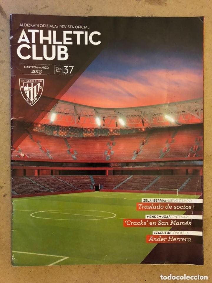 ATHLETIC CLUB REVISTA OFICIAL N° 37 (MARZO 2013). SAN MAMÉS BERRIA, ANDER HERRERA, CRACKS SAN MAMÉS (Coleccionismo Deportivo - Revistas y Periódicos - otros Fútbol)