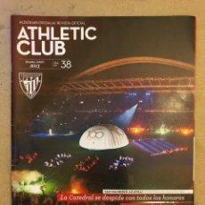 Coleccionismo deportivo: ATHLETIC CLUB REVISTA OFICIAL N° 38 (JUNIO 2013). DEPEDIDA DE SAN MAMÉS, IKER MUNIAIN,.... Lote 173822783