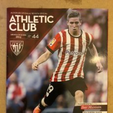 Coleccionismo deportivo: ATHLETIC CLUB REVISTA OFICIAL N° 44 (DICIEMBRE 2014). IKER MUNIAIN, UEFA VS TORINO, AITOR LARRAZABAL. Lote 173822845