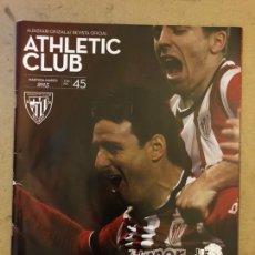 Coleccionismo deportivo: ATHLETIC CLUB REVISTA OFICIAL N° 45 (MARZO 2015). ESPECIAL FINAL COPA 2015 VS BARCELONA,.... Lote 173822857