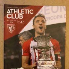 Coleccionismo deportivo: ATHLETIC CLUB REVISTA OFICIAL N° 47 (SEPTIEMBRE 2015). CAMPEONES SUPERCOPA 2015 VS BARÇA,.... Lote 173822865