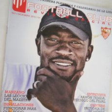 Colecionismo desportivo: ZOKOMOTORA EL MOTOR DEL SEVILLA FC FOOTBALL CLUB. REVISTA OFICIAL SEVILLA F.C. Nº 21 DICIEMBRE 2010. Lote 173980743
