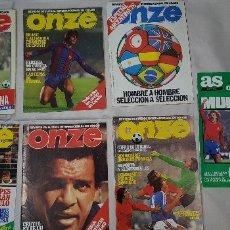 Coleccionismo deportivo: REVISTA ONZE. Lote 174271932