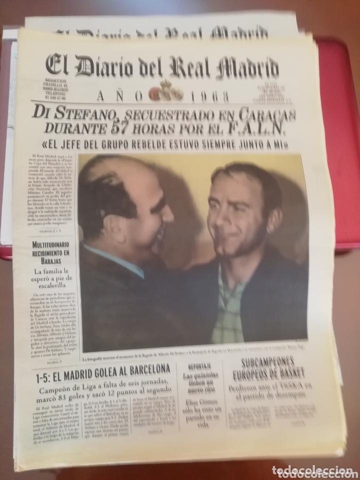 REAL MADRID . DIARIO OFICIAL. AÑOS 60. LOTE DE 5. (Coleccionismo Deportivo - Revistas y Periódicos - otros Fútbol)