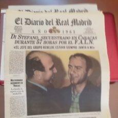 Coleccionismo deportivo: REAL MADRID . DIARIO OFICIAL. AÑOS 60. LOTE DE 5.. Lote 174284220