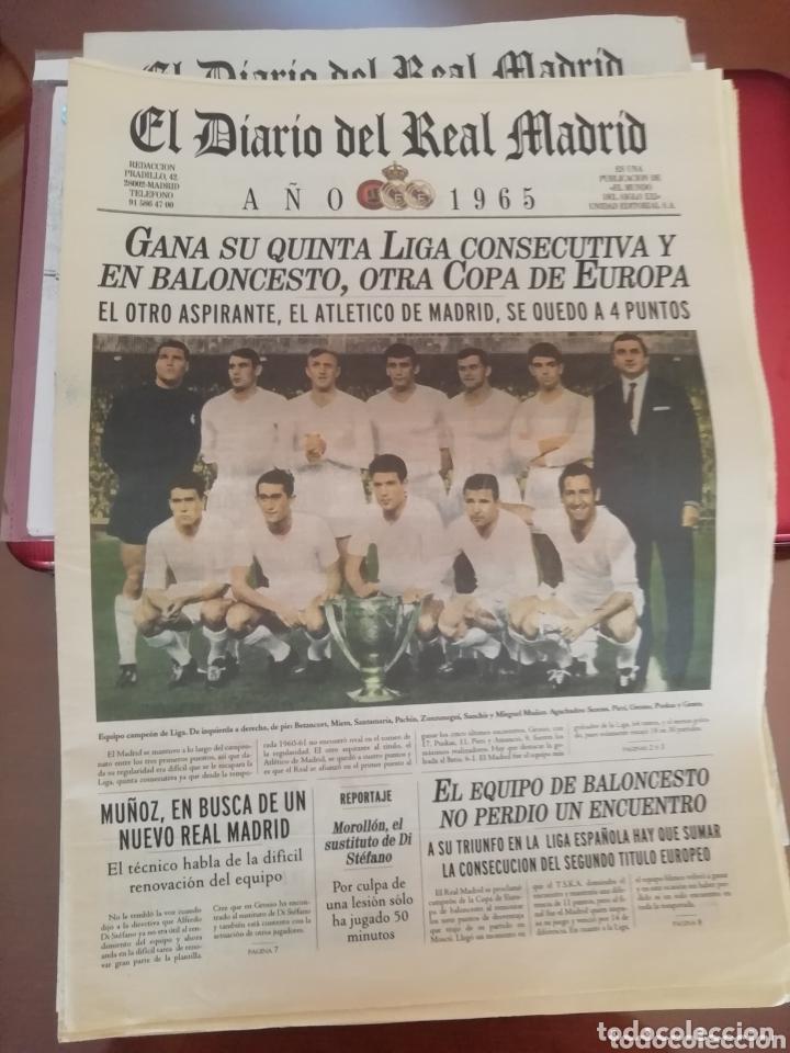 Coleccionismo deportivo: Real Madrid . Diario oficial. Años 60. Lote de 5. - Foto 2 - 174284220