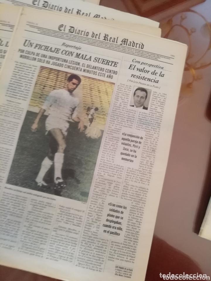 Coleccionismo deportivo: Real Madrid . Diario oficial. Años 60. Lote de 5. - Foto 3 - 174284220