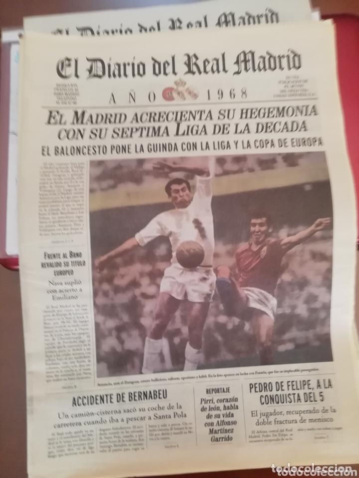 Coleccionismo deportivo: Real Madrid . Diario oficial. Años 60. Lote de 5. - Foto 4 - 174284220