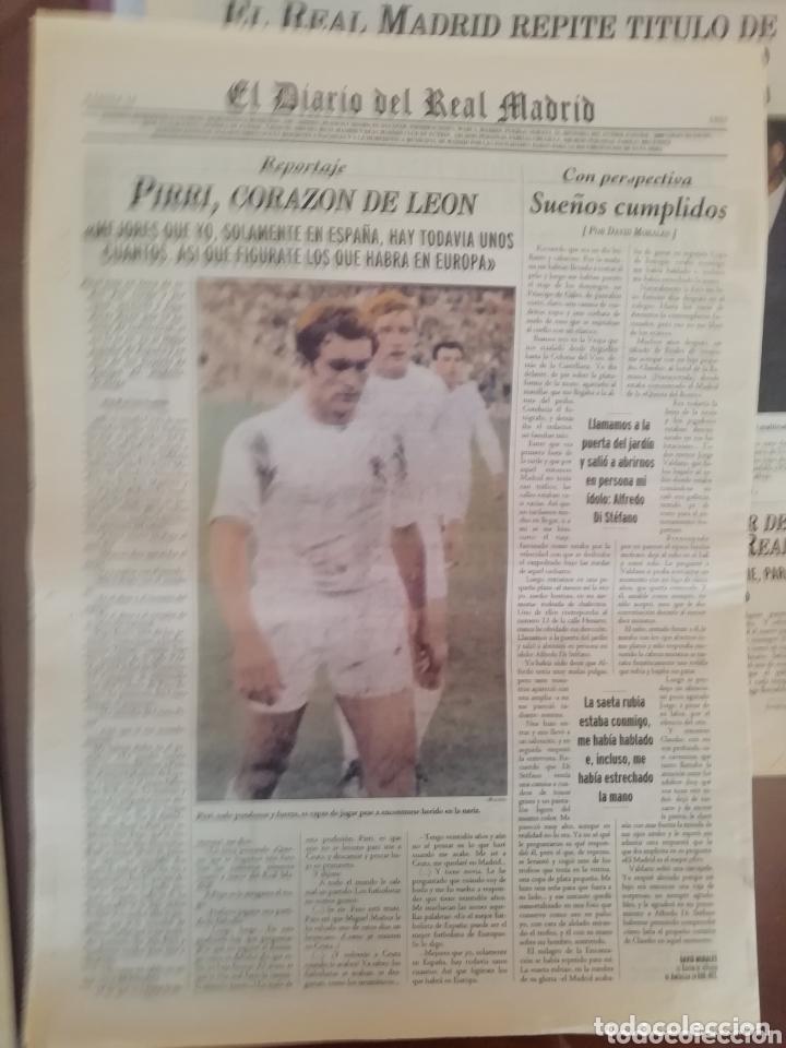 Coleccionismo deportivo: Real Madrid . Diario oficial. Años 60. Lote de 5. - Foto 5 - 174284220