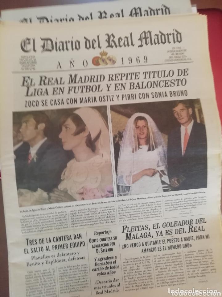 Coleccionismo deportivo: Real Madrid . Diario oficial. Años 60. Lote de 5. - Foto 6 - 174284220