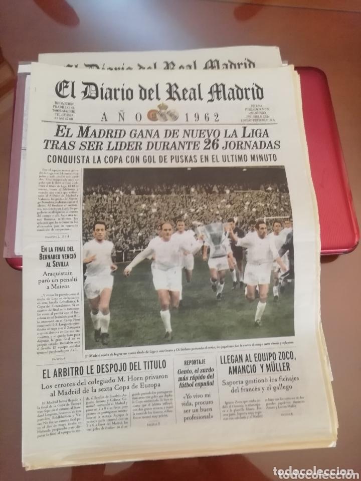 Coleccionismo deportivo: Real Madrid . Diario oficial. Años 60. Lote de 5. - Foto 8 - 174284220