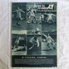 Coleccionismo deportivo: REVISTA REAL MADRID Nº 106 1959, DI STEFANO SIEMPRE. Lote 174525177