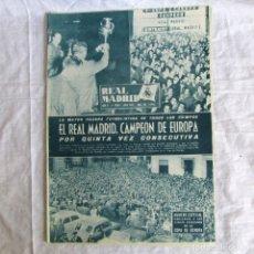 Coleccionismo deportivo: REVISTA REAL MADRID, Nº 120 1960, CAMPEÓN DE EUROPA POR QUINTA VEZ CONSECUTIVA. Lote 174525333