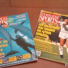 Coleccionismo deportivo: REVISTAS FORTUNA SPORTS - 33 ANTIGUAS AÑOS 92-93-94. Lote 174953282