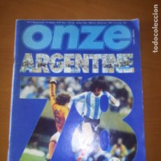 Coleccionismo deportivo: REVISTA Nº 31 ONZE - ARGENTINA 78 WORLDCUP 1978 - ORIGINAL - GOLY. Lote 175142579