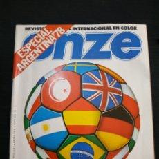 Coleccionismo deportivo: REVISTA ONZE NÚMERO 5 ESPECIAL ARGENTINA 78. 21X28CM. Lote 175189027