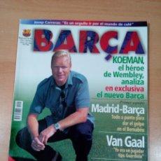 Coleccionismo deportivo: REVISTA BARCA - NUMERO 1 - SEPTIEMBRE 1998 - BUEN ESTADO - SIN POSTER . Lote 175326170