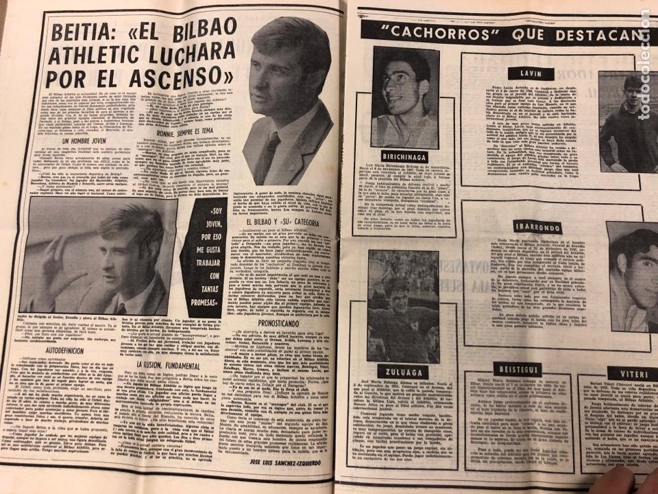 Coleccionismo deportivo: ESTADIO N° 66 (30/11/1970). SEVILLA FC 3-2 ATHLETIC CLUB, PARTIDOS de1ª, 2ª y 3ª DIVISIÓN,REAL GIJÓN - Foto 5 - 175499684