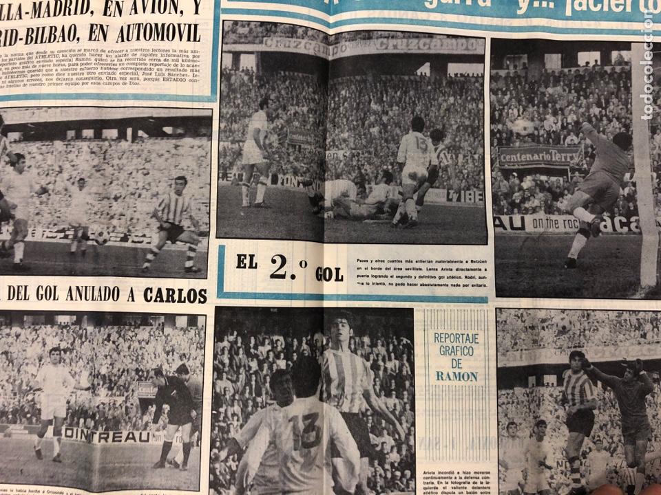 Coleccionismo deportivo: ESTADIO N° 66 (30/11/1970). SEVILLA FC 3-2 ATHLETIC CLUB, PARTIDOS de1ª, 2ª y 3ª DIVISIÓN,REAL GIJÓN - Foto 6 - 175499684