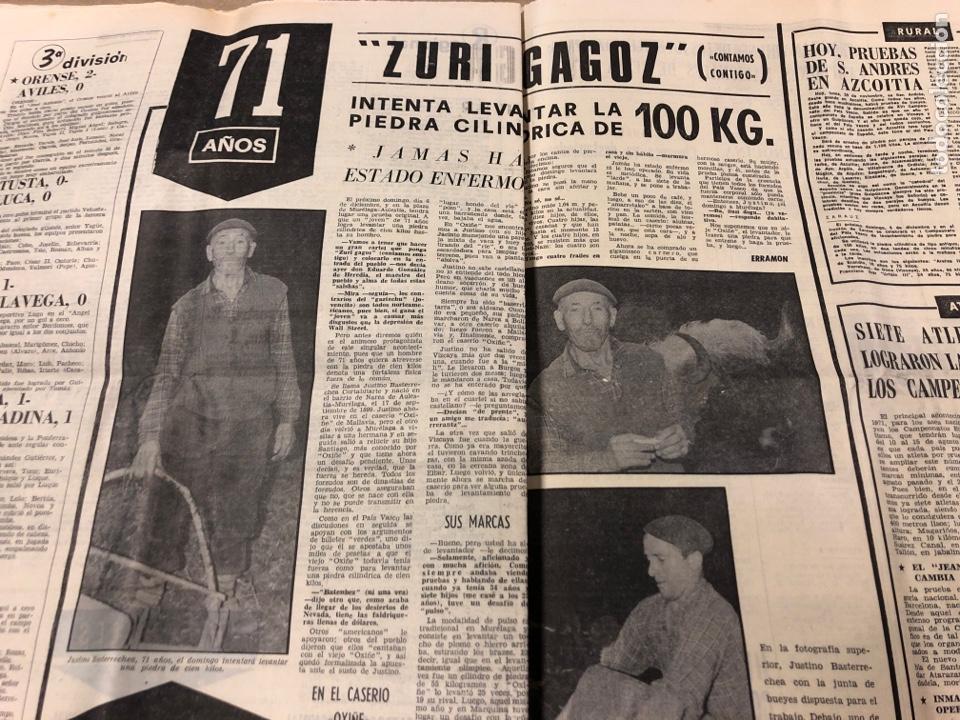 Coleccionismo deportivo: ESTADIO N° 66 (30/11/1970). SEVILLA FC 3-2 ATHLETIC CLUB, PARTIDOS de1ª, 2ª y 3ª DIVISIÓN,REAL GIJÓN - Foto 8 - 175499684