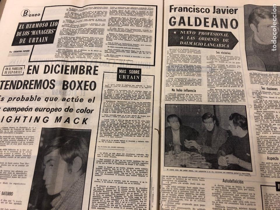 Coleccionismo deportivo: ESTADIO N° 66 (30/11/1970). SEVILLA FC 3-2 ATHLETIC CLUB, PARTIDOS de1ª, 2ª y 3ª DIVISIÓN,REAL GIJÓN - Foto 9 - 175499684