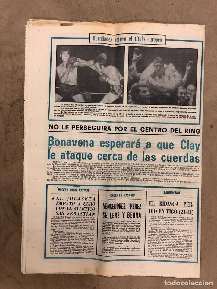 Coleccionismo deportivo: ESTADIO N° 66 (30/11/1970). SEVILLA FC 3-2 ATHLETIC CLUB, PARTIDOS de1ª, 2ª y 3ª DIVISIÓN,REAL GIJÓN - Foto 11 - 175499684